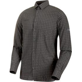 Mammut Lenni Longsleeve Shirt Men titanium